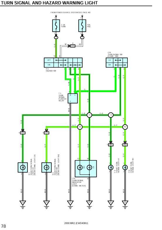 Sd Hut Tach Install In Cer, Mr2 Wiring Diagram
