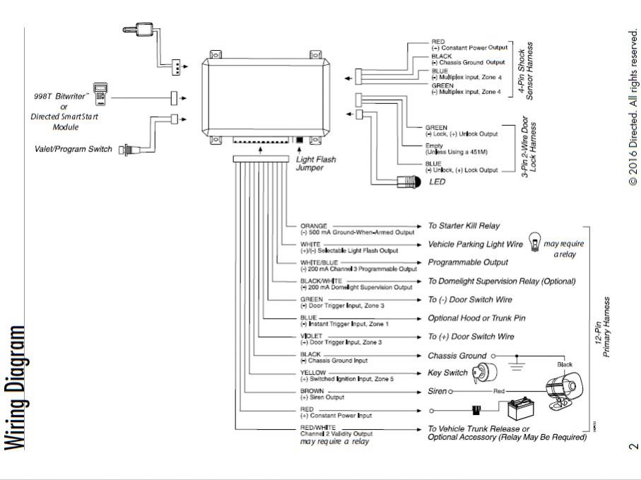 Viper 3305v Wiring Diagram