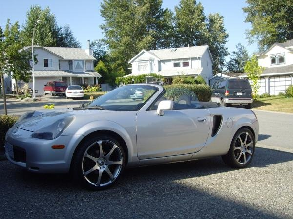 Showcase cover image for arcticakitas's 2001 Toyota MR2 Spyder