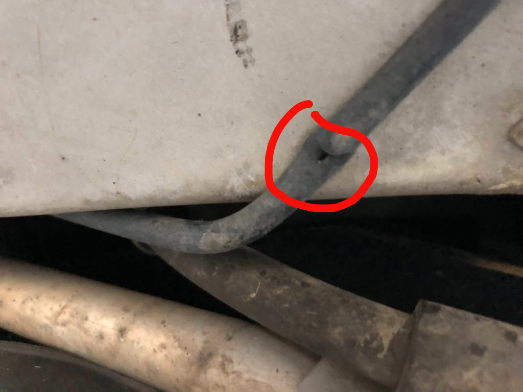 EVAP Check Engine Light codes  I think I found the leak  Am