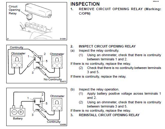 Low Voltage On Fuel Pump Mr2 Der, Mr2 Wiring Diagram